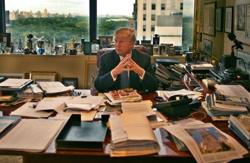 для бльшого офис дональда трампа фото интересное, что она